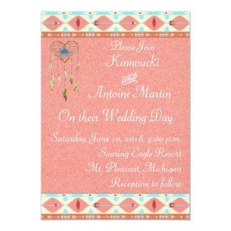 Native American Wedding Invitation