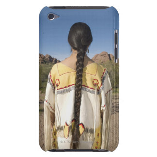 Native American woman in traditional clothing 2 iPod Touch Cases