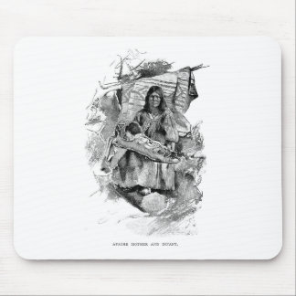 Native Americans Mouse Pads