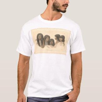 Native Americans of California (0685A) T-Shirt