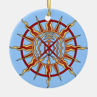 Native Art Ornament First Nations Keepsakes