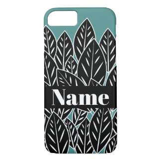 Native B&W Flora Leaves iPhone 8/7 Case