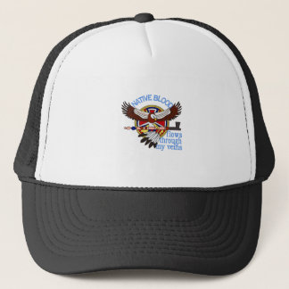 Native Blood Trucker Hat
