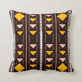 Native Brown Yellow Decor-Soft Pillows