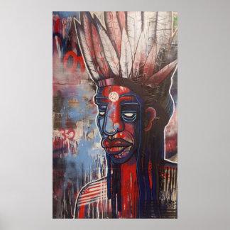 'Native', by Ryan Gardell Poster