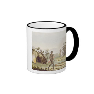 Native cabin, New Holland, plate 64 from 'Le Costu Ringer Coffee Mug