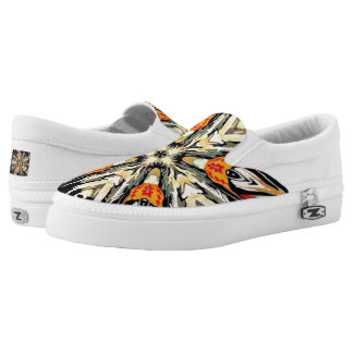 Native Design Custom Zipz Slip On Shoes, Unisex Printed Shoes