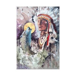 Native Dream Canvas Print