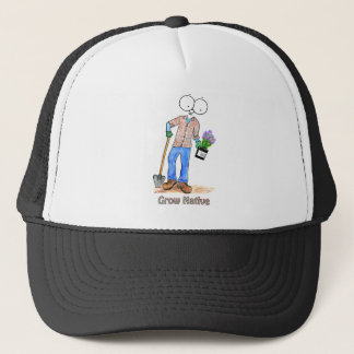Native Gardening Guy Trucker Hat