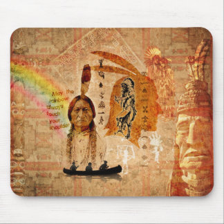 Native Indian Impressions Mousepad