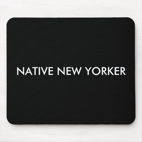 Native New Yorker Mouse Mat