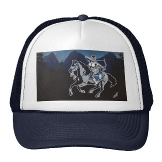 Native Pin Up Girl Hat Customizable