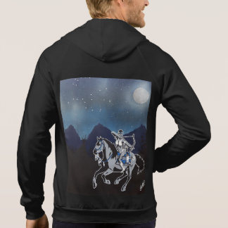 Native Pinup Girl Hoodie Mens Customizable