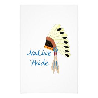 Native Pride Stationery