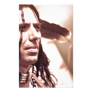 Native pride custom stationery