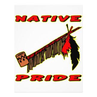 Native Pride Tobacco Peace Pipe 21.5 Cm X 28 Cm Flyer