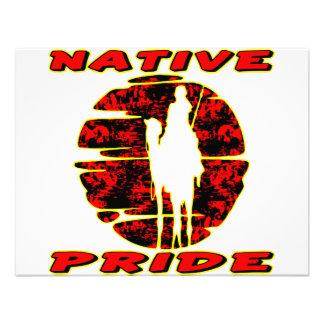 Native Pride Warrior 002 Custom Invite