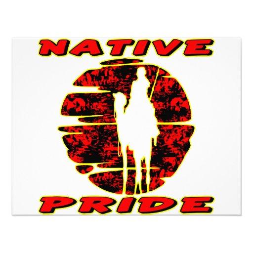Native Pride Warrior #002 Custom Invite