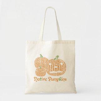 Native Pumpkins Tote Bag