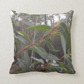 Native Raindrops Throw Pillow