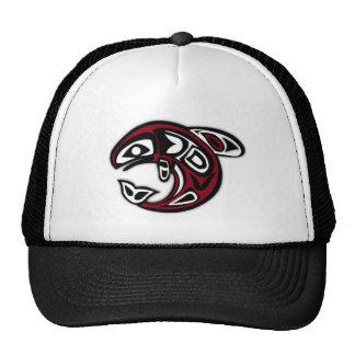 Native Salmon Fish Cap