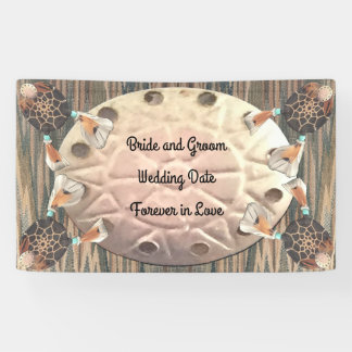 Native Sand Dollar Wedding Banner