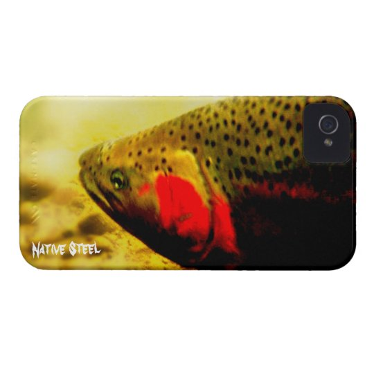 Native steelhead Case-Mate iPhone 4 case
