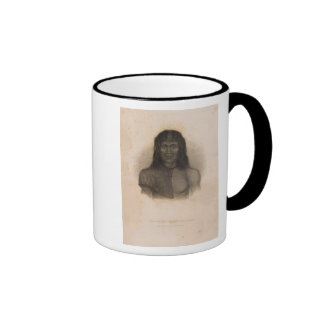 Native, Terra del Fuego, Argentina and Chile Ringer Mug