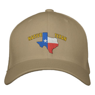 Native Texan Embroidered Hat