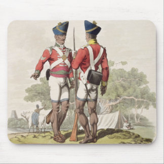 Native Troops in the East India Company's Service: Mouse Mat