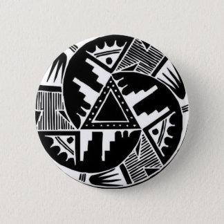 Native Wheel 6 Cm Round Badge