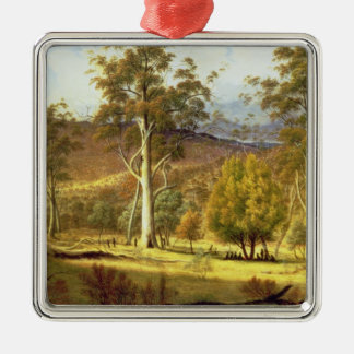 Natives in the Eucalypt Forest on Mills Plains, Pa Christmas Ornament