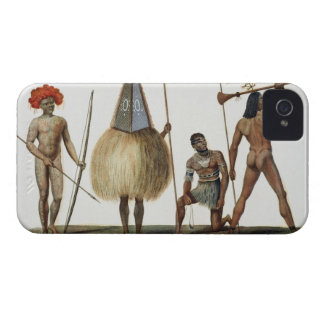 Natives of New Ireland, from 'Voyage autour du Mon iPhone 4 Cover