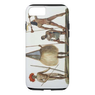 Natives of New Ireland, from 'Voyage autour du Mon iPhone 8/7 Case
