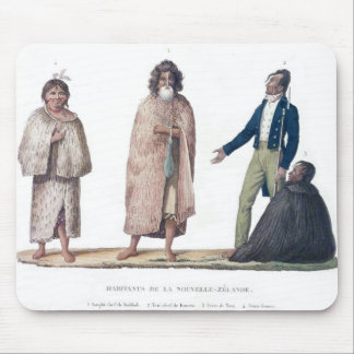 Natives of New Zealand Mouse Mat