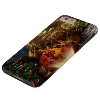 Nativity and Church - The Birth of Christ Tough iPhone 6 Plus Case