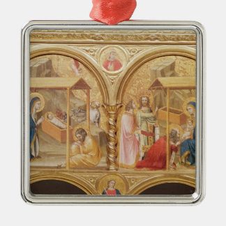 Nativity and the Adoration of the Magi Christmas Ornament