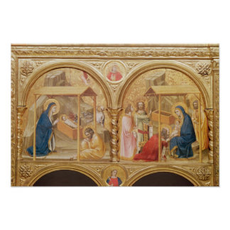 Nativity and the Adoration of the Magi Poster