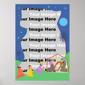 Nativity Border Poster