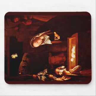 Nativity By Geertgen Tot Sint Jans Mousepad