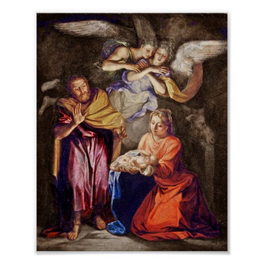 Nativity by Noel Coypel Poster