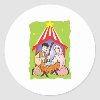 Nativity Christmas Birth of Jesus Christ Stamps Stickers