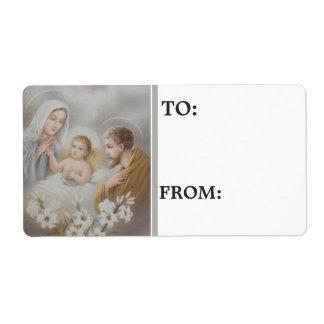 Nativity Christmas Personalized