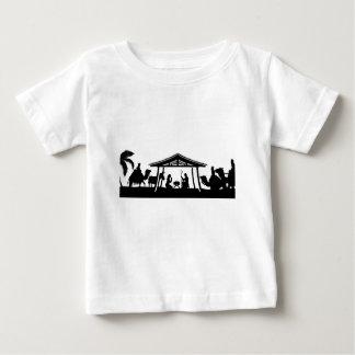 Nativity Christmas Scene Baby T-Shirt