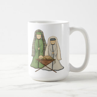 Nativity Classic White Mug