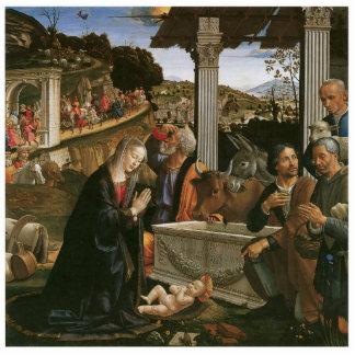 Nativity - Domenico Ghirlandaio Holiday Ornament Photo Sculpture Decoration