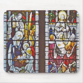 Nativity Eucharist Mouse Pads