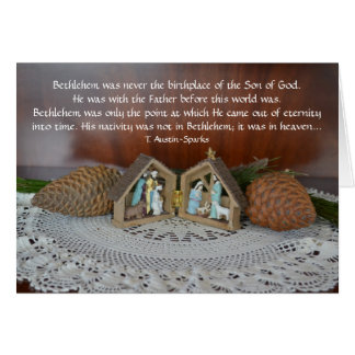 Nativity... Greeting Card