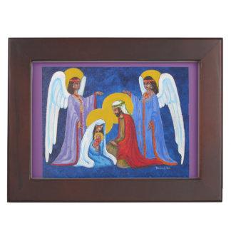 Nativity Jewelry Box