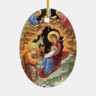 Nativity of Our Lord and Savior Jesus Christ Christmas Ornament